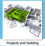 Projects and building